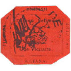 British Guiana 1-cent magenta stamp
