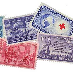 Commemorative stamp values - Commems are priced higher than the regular stamps because they come in limited editions.