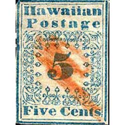 Hawaiian Missionary stamps