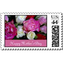 Special issue stamps - These stamps are thematic in nature and they highlight certain events like the Mother's Day postage stamp above.